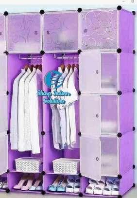 3 Column Portable Vibrant Wardrobes image 3