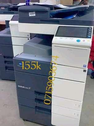 Approved Konica Minolta bizhub C554e photocopier machine image 1