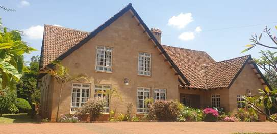 Furnished 4 bedroom house for rent in Runda image 10