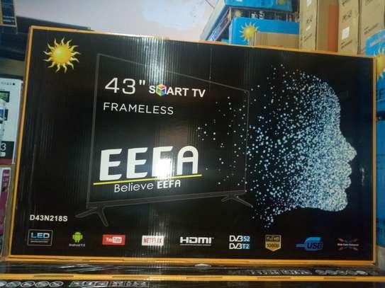 """Brand new 43"""" eefa smart android frameless tv"""