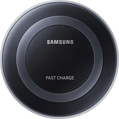 Samsung Qi Certified Fast Charge Wireless Charging Pad + Stand - Supports wireless charging on Qi compatible smartphones image 1