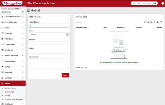 School Management  ERP System image 4