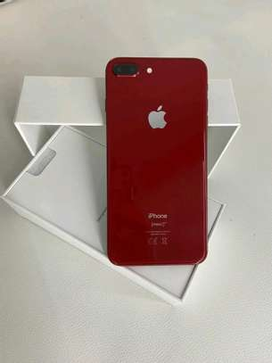 Apple Iphone 8 Plus Product Red 256 Gigabytes & Airpods image 4