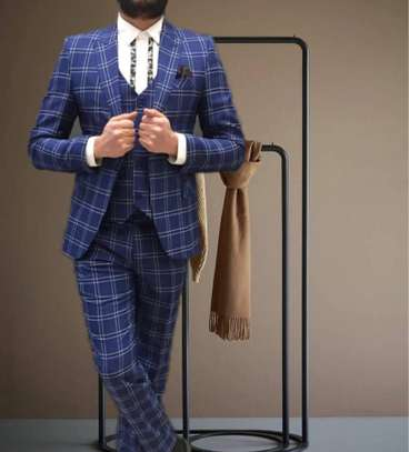 Checked suits image 1