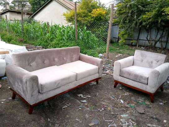 Gorgeous Simple Modern Quality 5 Seater Sofa image 1