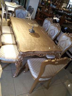 Glass 8Seater Dining table image 1