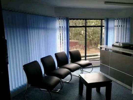 VERTICAL BLINDS  TO COVER UP YOUR OFFICE WINDOWS image 2