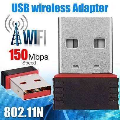 Mini USB WiFi Dongle B/G/N Wireless Network Adapter for Laptop PC. - N/A image 3