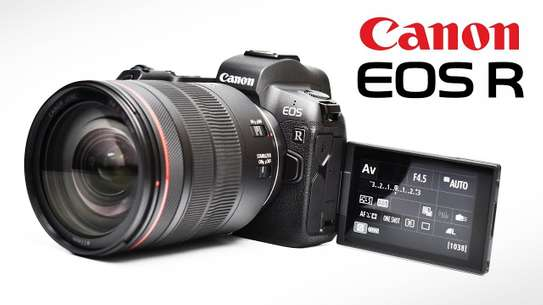 Canon EOS R Mirrorless Digital Camera Lens 24-105mm image 2