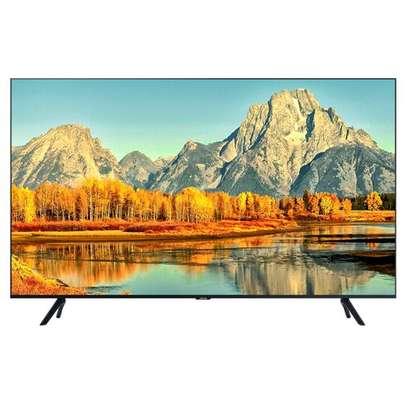 LG TV 55UN7240 Smart 4K Television with Magic Remote black 55 inch image 1