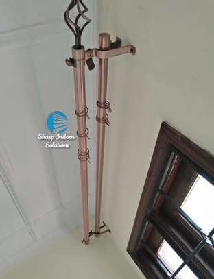 2m curtain rods (extensible) image 5