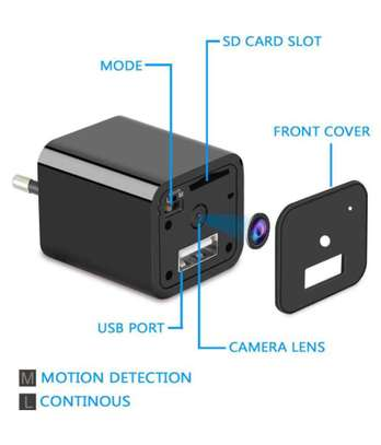 1080P Mini Camera USB Phone Charger image 3