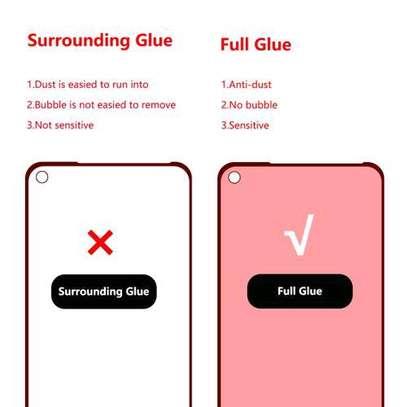 Full Coverage Film for Huawei Nova 5i Pro / Mate 30 Lite Full Glue 0.26mm 9H 2.5D Tempered Glass image 3