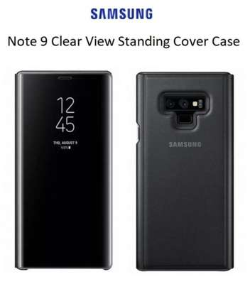 Clear View Flip Cover for Samsung Note 9 With Sensor image 6