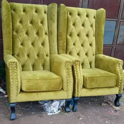 Wingback chairs image 1