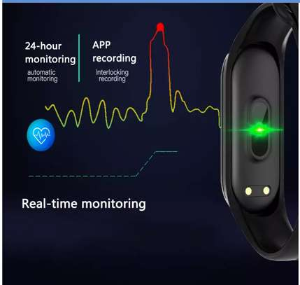 Smart Fitness Watch Bracelet M4 Tracker Band Activity Heart Rate Monitor image 11