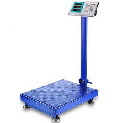 150kg and 300kg electronic weighing scale Big Platform image 1