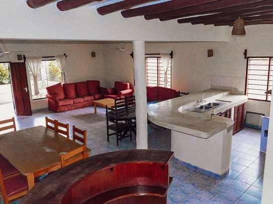 Furnished 4 bedroom villa for rent in Diani image 1