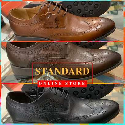Men's Official Italian Leather Shoes with rubber sole image 21