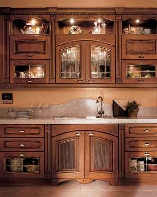 Modern kitchen cabinets/inbuilt kitchen cabinets/modern inbuilt home designs image 3