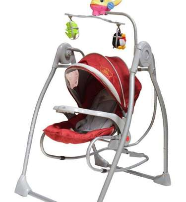 Battery operated baby swing & rocker image 4