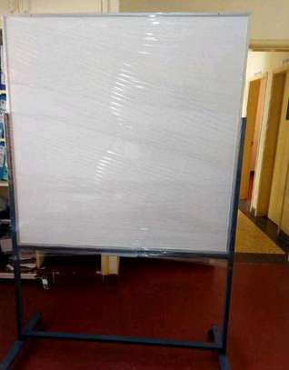 Portable whiteboards with stand and wheels