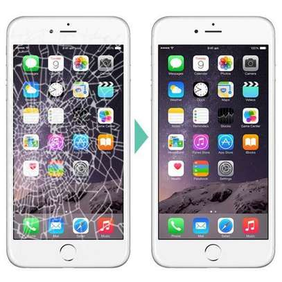 Iphone  7 iphone 7 plus iphone 8 and iphone 8 plus screen replacement image 1