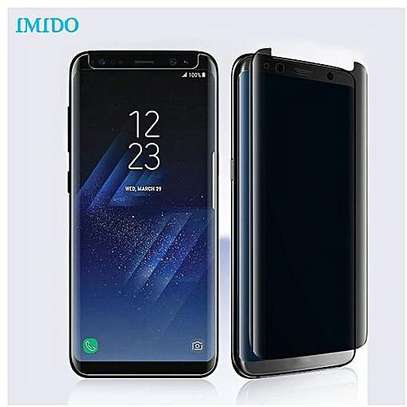 5D Privacy Glass protector for Samsung S8 S8 Plus image 2