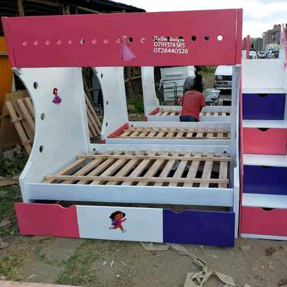 Latest Bunk bed/modern beds/double decker/baby beds for sale in Nairobi Kenya image 1