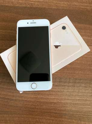 Apple Iphone 8 Gold 256 Gigabytes And Olliclips Professionally Photography Lens image 2