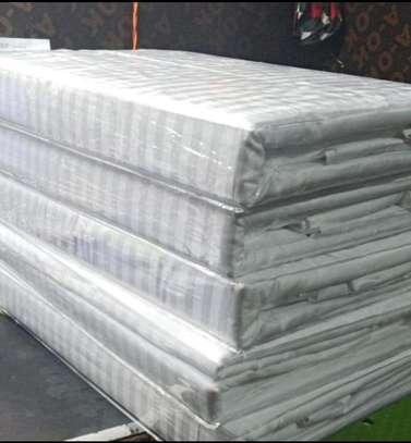 White stripped duvet cover image 1