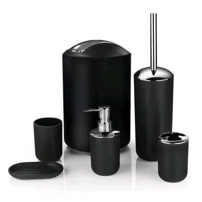 ?✨  ♦️Tooth Mug ♦️Toothbrush Holder ♦️Lotion Dispenser ♦️Soap Dish ♦️Trash Can  ♦️Toilet Brush With Holder image 5