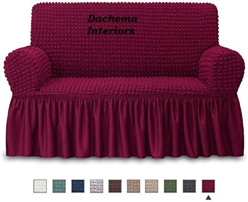 Quality Stretchable 7 seater sofa covers image 3
