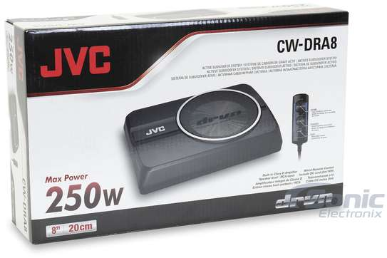 VC CW-DRA8 UNDERSEAT SUBWOOFER