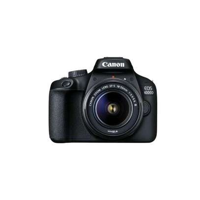 Canon EOS 4000D DSLR Camera and EF-S 18-55 mm