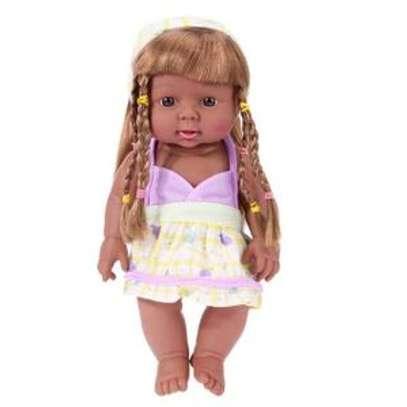 Kids Babies Black African Pretend Play Doll image 1