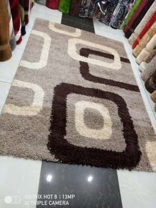 Turkish Shaggy Carpet 5by8 image 1