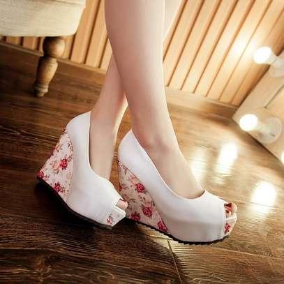Ladies wedge shoes image 2