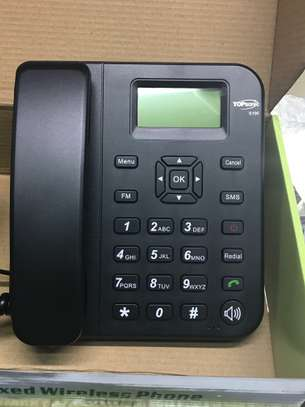 GSM Wireless Desktop phone (Dual SIM)