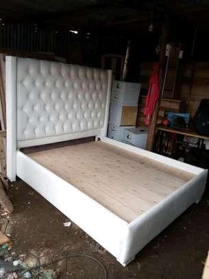 Fabulous Beautiful Modern Quality Kingsize Upholstered Bed image 1