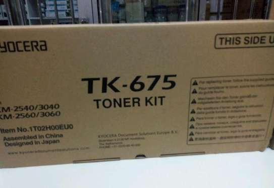 TK 675 ORIGINAL CARTRIDGES image 1