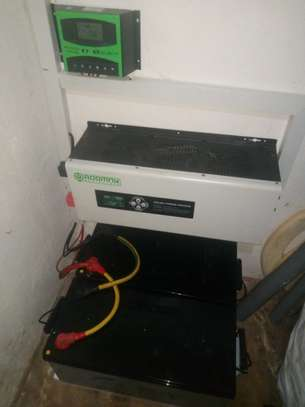 2000W off-grid PV solar home system ( purely solar in your home) image 3