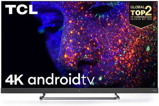 Tcl 55 inches C8 ONKYO Android Smart UHD-4K Digital TVs image 1