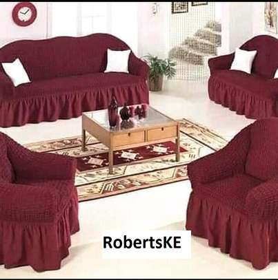 Durable streatchable sofa cover 5seater image 1