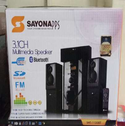 SAYONA SHT-1130BT 3.1 Channel – 15,000W PMPO Multimedia Subwoofers image 1