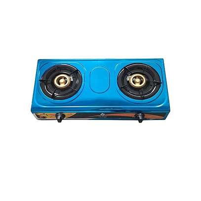 Stainless Steel 2 Burner Gas Stove Nunix  Top -QG 201