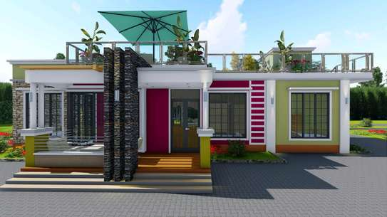 4 bedroom flat roof. With resting place image 2