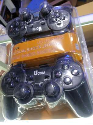 UCOM Double PC USB Dualshock Game Controller ,Game Pads image 1