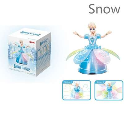 Snow Dance  Princess Light Rotating Toy image 1