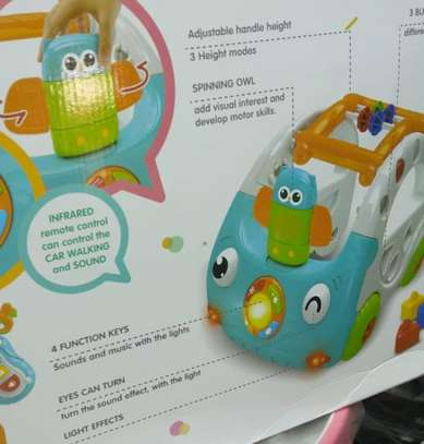 Baby 3in1 Baby Walker & Discovery Car image 8